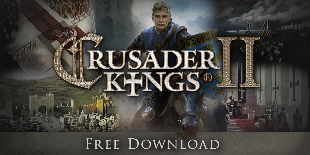 Freebie: Crusaders Kings II free on Steam - Game Knightly