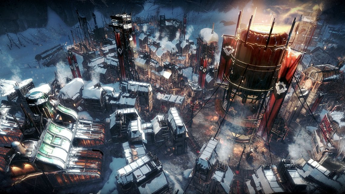 The city of Frostpunk marches onward under the banner of the New Order