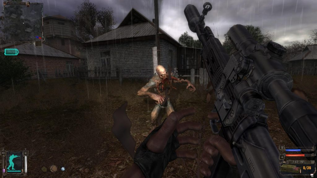 "Gameplay from ""STALKER: Shadow of Chernobyl"" - in 2007"
